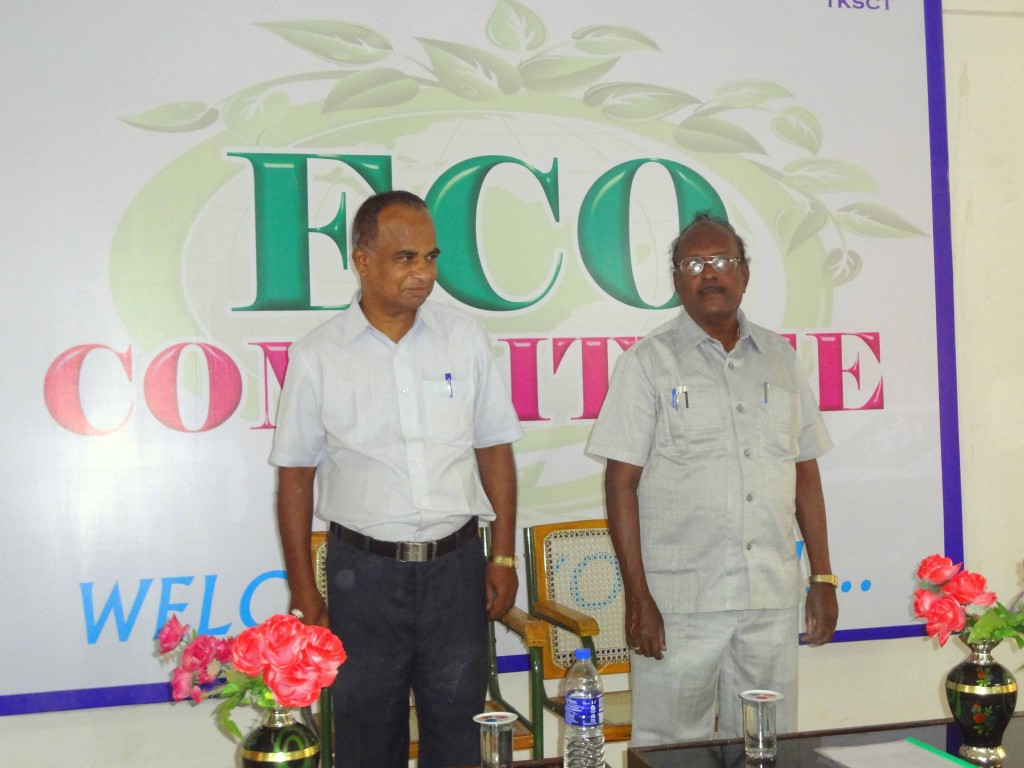 ECO CLUB INAUGURATION ON 29.08.15